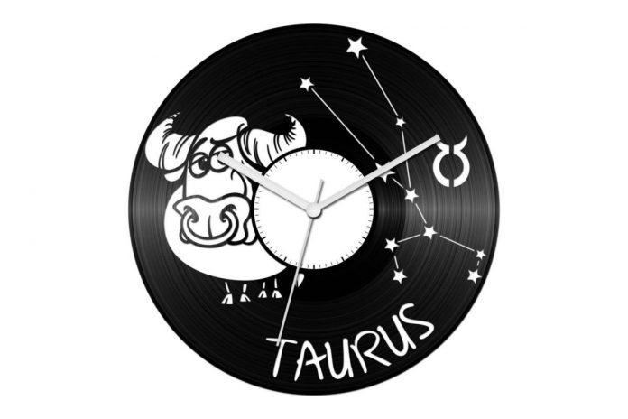 horoszkópos bakelit órák