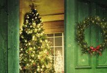 karácsonyi témájú vászonkép